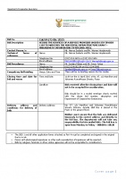 TENDER DOCUMENTS FOR (T) 06 2015
