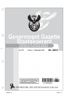 DEPARTMENT OF COOPERATIVE GOVERNANCE NOTICE