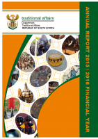 Traditional Affairs Annual Report 2015-16