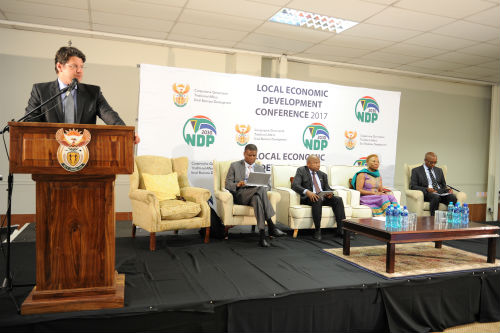 Presentations from the 2017 Local Economic Development conference held at the Saint George Hotel in Irene, Pretoria.