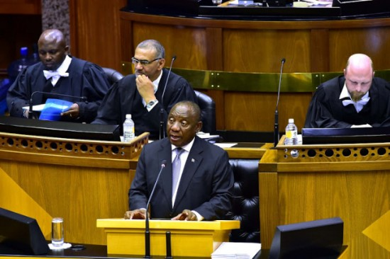 President Cyril Ramaphosa will deliver State of the Nation Address